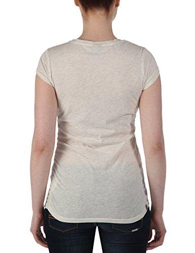 Bench Damen T-Shirt Deckstar II Pale Grey Marl