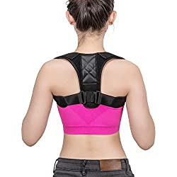 Eletorot Haltungskorrektur Geradehalter Schulter Rücken Haltungsbandage Posture Corrector Haltungstrainer mit verstellbare Größe für Männer und Frauen,verstellbar & atmungsaktiv