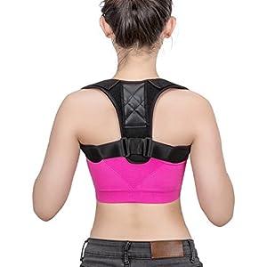 Eletorot Geradehalter zur Haltungskorrektur Posture Corrector Haltungstrainer Schulter Rückenstütze Rücken Haltungsbandage mit verstellbare Größe für Männer und Frauen,verstellbar & atmungsaktiv für haltungsbedingte Nacken, Rücken und Schulterschmerzen(L)