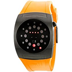 The One Lightmare L202R3YE Men's Yellow Rubber Strap Watch