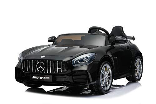Kalco Toys UK© latest 2019grande due sedili singoli con licenza ufficiale Mercedes AMG GT R con 4motori 24V batteria 4WD per bambini auto elettrica cavalcabile bambini con telecomando per genitori