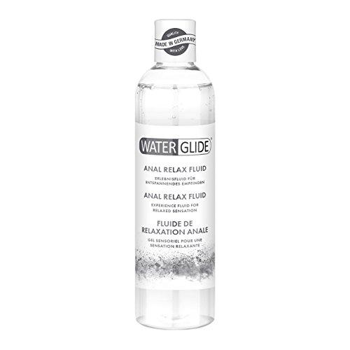 Waterglide, Anal Relax Fluid, entspannend mit leicht betäubendem Effekt, Langzeitwirkung auf Wasserbasis, 300 ml