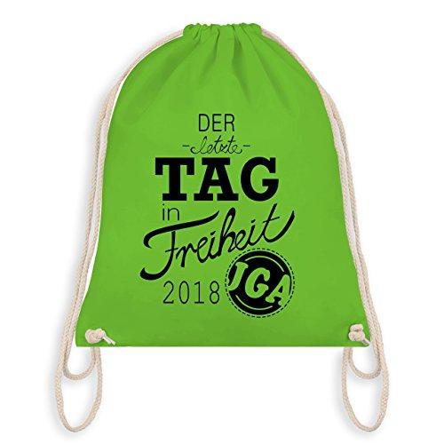 Bag 2018 Tag in Der Turnbeutel JGA Gym Junggesellinnenabschied I Hellgrün Freiheit letzte ntvUI5Yxwq