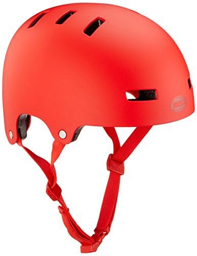 Bell Erwachsene Division Bmx-Helm, Matte Red, L