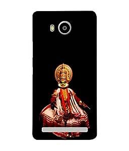PrintVisa Designer Back Case Cover for Lenovo A7700 (The Famous Kathakali Design)