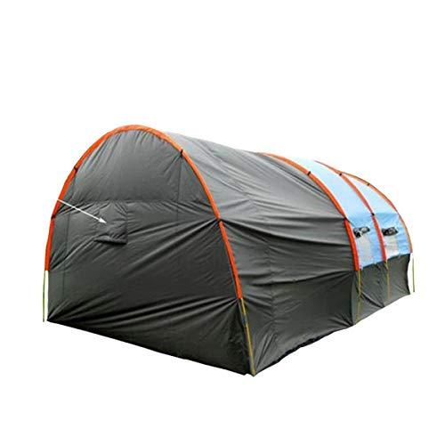 Junjiagao-Prodotti all'aperto Outdoor-Produkte Neues großes Teamzelt Mehrpersonen 8-10 Personen EIN Raum Zwei Halle Camping Gruppe Kollektiv Camping Zelt Tunnelzelt, erschwinglich -