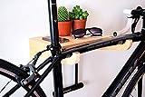 Fahrradhalter Wand / Fahrrad Wandhalterung / Fahrradhalter / Fahrradzubehör / Fahrradständer aus Holz / TEIXO BIRKE