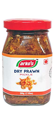 Arkos Homemade Dry Prawn Pickle, 200g