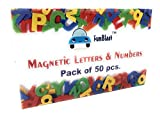 #10: FunBlast™ Magnetic Learning Letters Alphabets and Numbers, Pack of Premium Quality ABC, abc and 123 Educational Magnets with Mathematical Symbol for Kids (PACK OF 50 Pcs (ABC & 123))