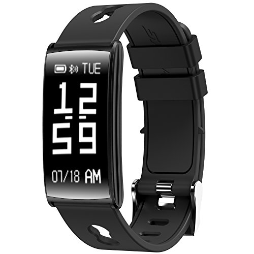 Fitness Tracker Heart Rate Blood Pressure Sleep Monitor IP67 Waterproof Activity Tracker Calorie Counter Pedometer Waist Watch Bracelet For Android And IOS