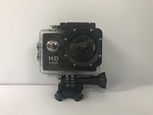 NINE CUBE Action Kamera Ultra HD 1080P 12MP, 2 Zoll LCD, 100ft Unterwasser-DV-Camcorder, 140 ° Weitwinkel-Sport Action Kamera mit 2 wiederaufladbaren 1050mAh Batterien und Montagezubehör Kits Wasse