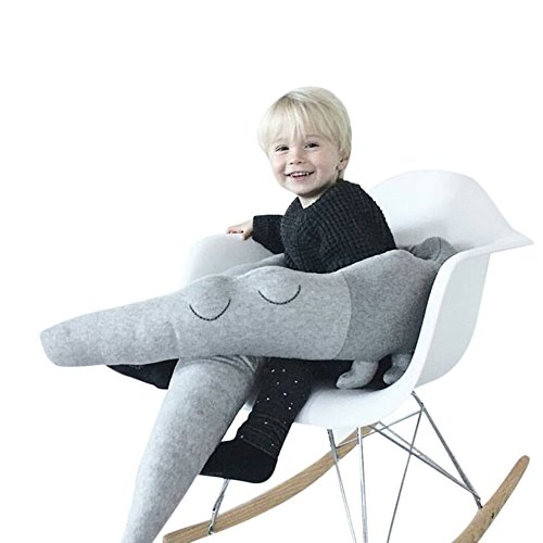 kuuboo Elefanten-Kissen-Babyspielzeug Schlafsack Kaninchen Hugging Kissen Pl�schtiere mit Soft-Spielzeug, H�schen, mit Soft-Pl�sch-Puppen Spielzeug, Baby-Geschenke