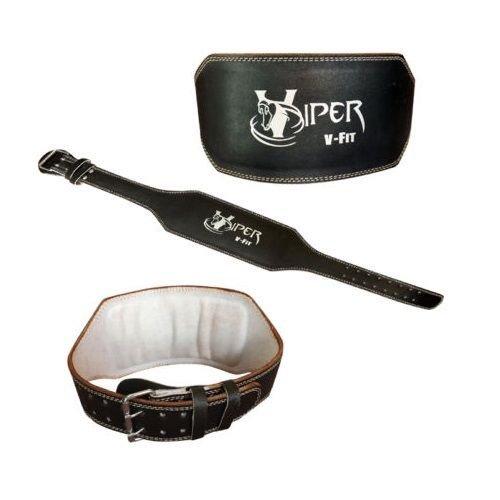 Viper Leder Gewicht heben 15.24 cm Gürtel Rückenstütze Training Gym, Kraft, s, 60.96 cm - 71.12 cm))
