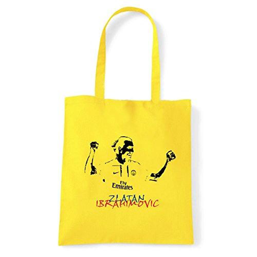 Art T-shirt, Borsa Shoulder Ibra, Shopper, Mare Giallo