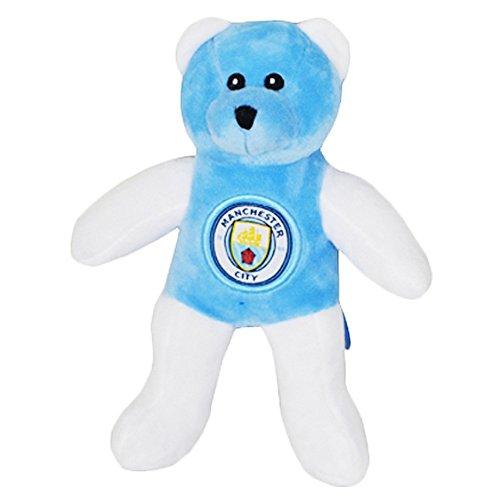 Manchester City FC Kontrast Teddybär (One Size) (Blau/Weiß) (Teddybären Sammlerstücke)