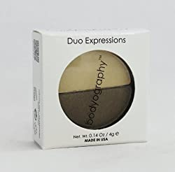 Bodyography Duo Expressions Eye Shadow, Spellbound, 0.14 Ounce by Bodyography