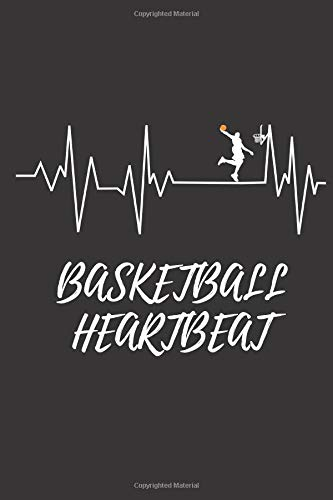 Basketball Heartbeat: Basketball Notebook, Journal, Diary (110 Pages, Lined, 6 x 9)
