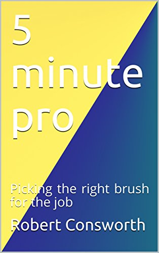 5 minute pro: Picking the right brush for the job (English Edition)