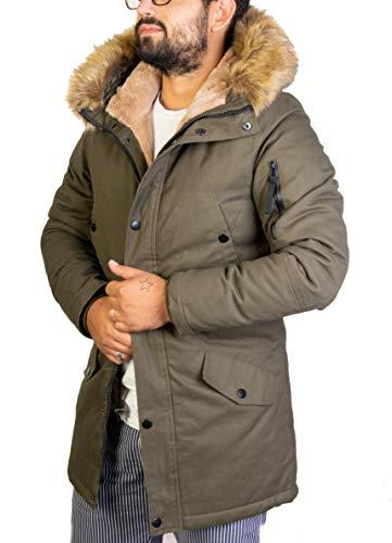 cheap for discount a0e0b e83c5 Antony Morale Giubbotto Parka Uomo Invernale (Verdone, Bordo ...