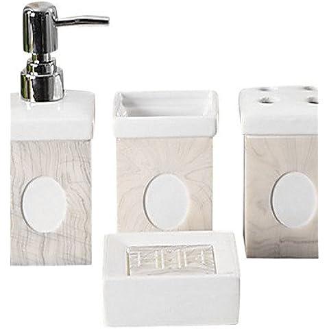Ceramiche tetragonum bagno quattro pezzi suit(schema (10 Ounce Bambino Bottiglie)