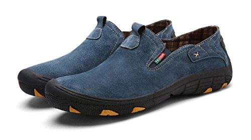 TDA ,  Herren Sneaker Low-Tops Blau