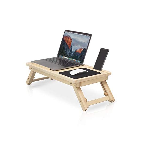 Table Pour Ordinateur Portable Respectueuse De Lu0027environnement Pour Lit    Commodité Et Confort   Plateau De Lit Pliable   Table De Petit Déjeuner    ...