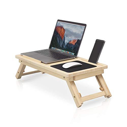 Mesa portátil ecológica para cama ✮ comodidad y confort ✮ Mesa plegable...