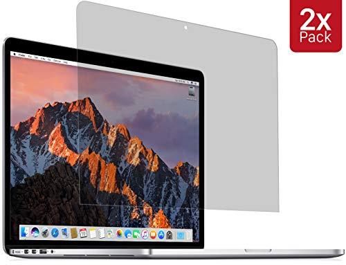 MyGadget 2X Bildschirm Schutz Folie [Matt] geeignet für Apple MacBook Pro Retina 13