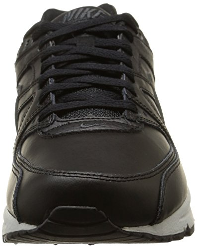 Nike Herren, air max command leather mehrfarbig (Black/Anthracite-Neutral Grey)