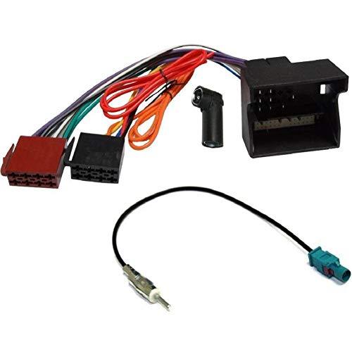 ADNAuto 12541 Kit Adaptateurs Iso Autoradio et Antenne Mercedes Classe à B C Clk Cls R S Sl Ap04 Kitcab37