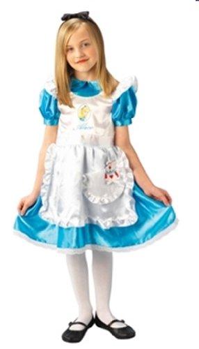 Rubies 3 883689 M - Alice in Wonderland Deluxe Größe (Alice Kostüm Deluxe Kind Wunderland Im)