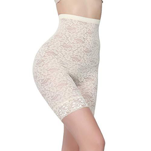 Bibao Damen Unterwäsche, Spitze, nahtlos, Sicherheitshose, Boxershorts, Unterhosen, Leggings, Strumpfhosen, Boyshorts -