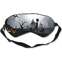 Schlafmaske mit Halloween-Aufdruck, konturierte Augenmaske preisvergleich bei billige-tabletten.eu