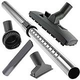 Barre de rallonge universel télescopique Mini brosse pour aspirateur Kit de nettoyage (35 mm)