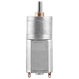 Hochdrehmoment Turbo Getriebemotor Motor DC 12V elektrische Total Metall Geschwindigkeitsreduzierung Getriebe 15/30/50/100 / 200RPM(12V 100RPM)
