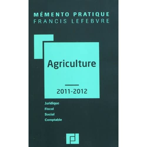 MEMENTO AGRICULTURE 2011-2012