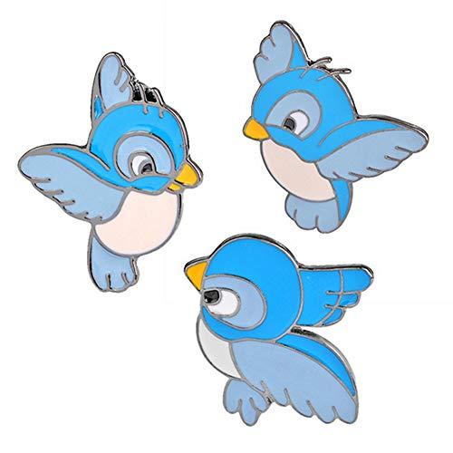 isuper-3-pz-set-carino-blue-bird-pin-cartoon-flying-animal-nascente-spilla-giacca-di-jeans-pin-buckl