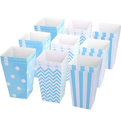 pcorn Tüte, Popcorn Boxes Popcorn Tüten Papiertüten Partytüte, 11.5 x 5cm - A ()