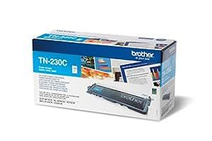 Brother TN230C Cartouche de toner DCP-9010CN HL-3040CN/3070CW MFC-9120CN/9320CW 1400 pages Cyan