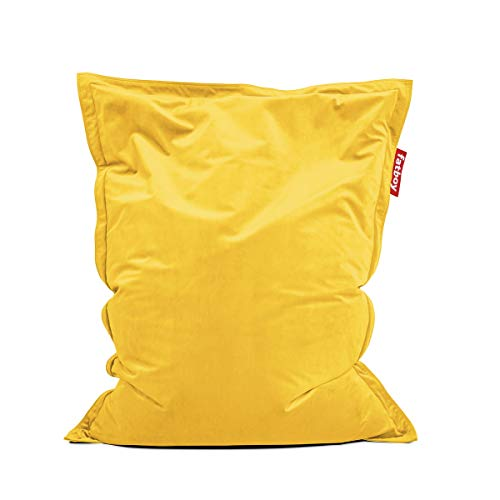Fatboy® original Slim Velvet Maize Yellow