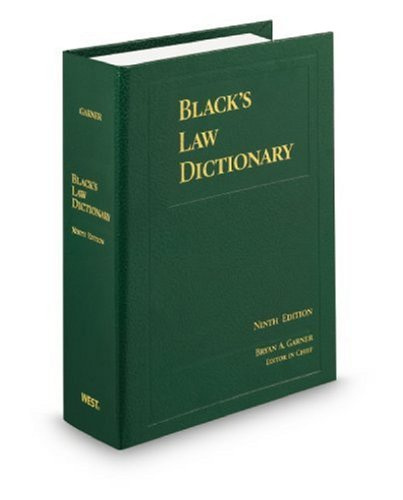 Black's Law Dictionary Deluxe: Deluxe Version (Black's Law Dictionary (Standard Edition))
