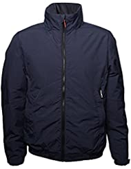 Toio - Team Winter Jacket Deep Navy Large Windproof and water resistant padded jacket with fleece inner lining