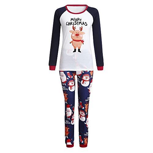 (TianWlio Baby Weihnachten Pyjamas Bekleidung Baby Weihnachten Outfit Baby Mädchen Mommy Christmas Me Weihnachten Passendes Hemd Baby Lange Ärmel Brief Drucken Tops Bluse)