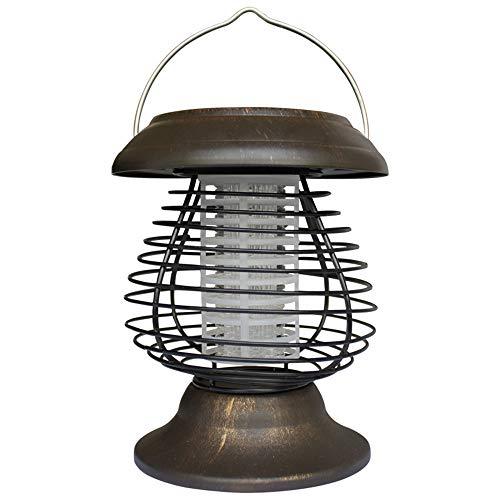 Renile Solar tragbare elektrische Mückenlampe Mückenvernichter Solar Wurm Indoor und Outdoor Garten Orchard -