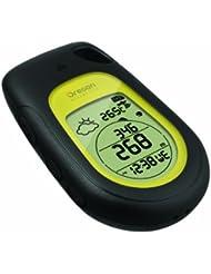 Oregon Scientific GPS Guide Back to Base Altimeter, schwarz gelb, GP 123