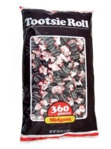 Tootsie Rolls Midgees Candy 360 Count by Tootsie Roll (Rolls Tootsie Candy)