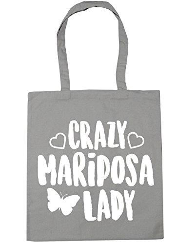 hippowarehouse-crazy-mariposa-lady-bolso-de-playa-bolsa-compra-con-asas-para-gimnasio-42cm-x-38cm-10