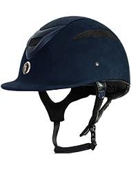 Gatehouse Conquest MK II Casco de equitación con purpurina–Azul Marino o negro, Navy Glitter
