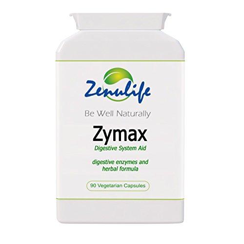 Zymax naturelles de désintoxication et d'aide système digestif 90 gélules Nettoie toxines indésirables. - Formule de prime garantie - Pour des problèmes du système digestif qui causent la mauvaise haleine, l'odeur de corps, des ballonnements d'estomac, chrons, IBS, la colite