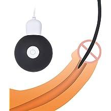 Vibrador de silicona para el pene uretral, elegante tapón de esperma estimula dilatadores de la